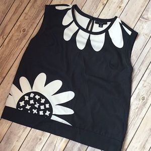 Black and White Victoria Beckham for Target top